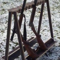 Waffenständer Treibjagd Drückjagd Gewehr- u. Flintenständer Neu und wetterfest