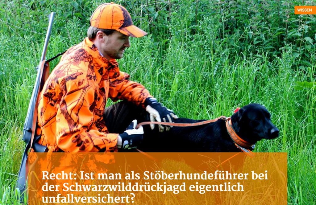 Des Jägers Recht