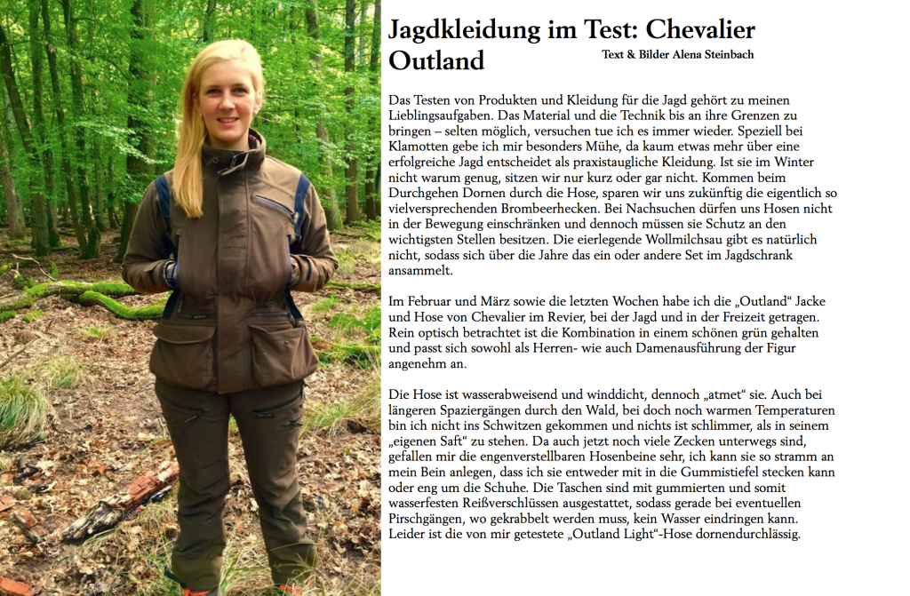 Chevalier Test