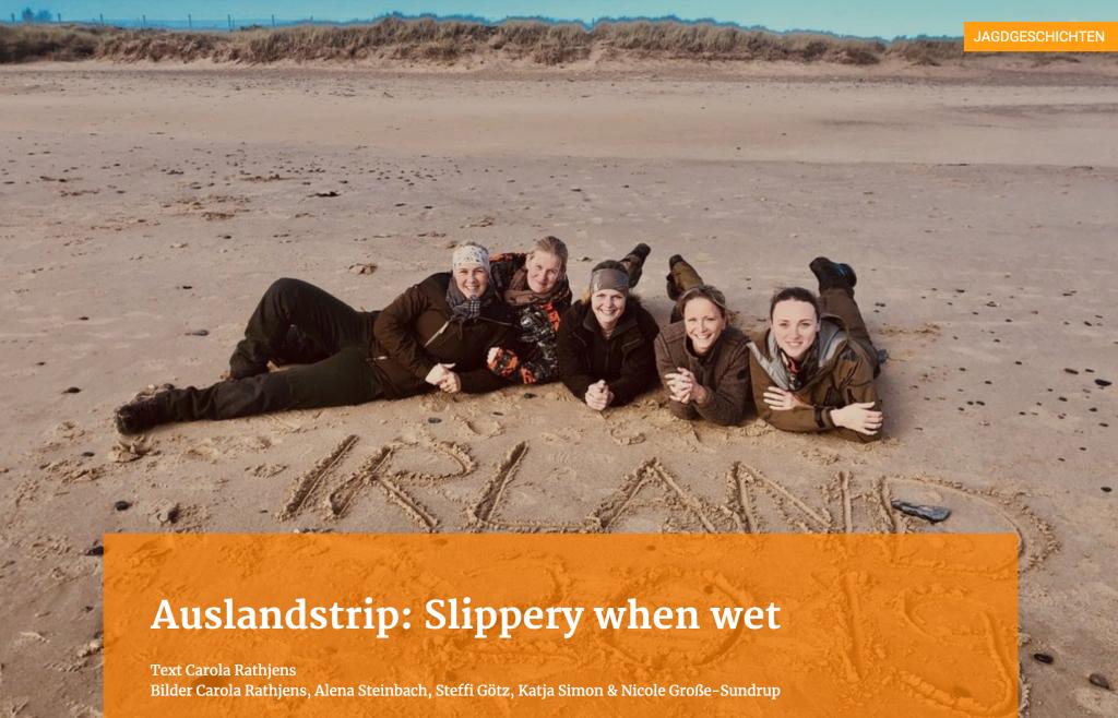 Irland: Slippery when wet
