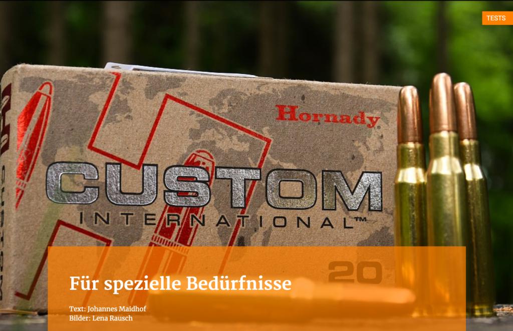 Hornady Test Custom