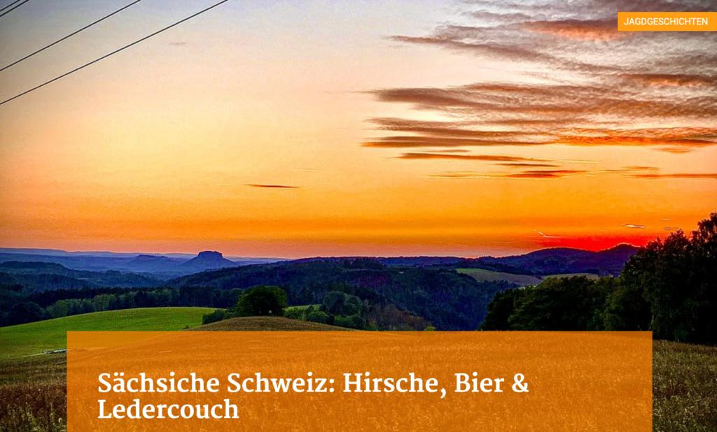 Sächsische Schweiz: Hirsche, Bier & Ledercouch - Teil 2