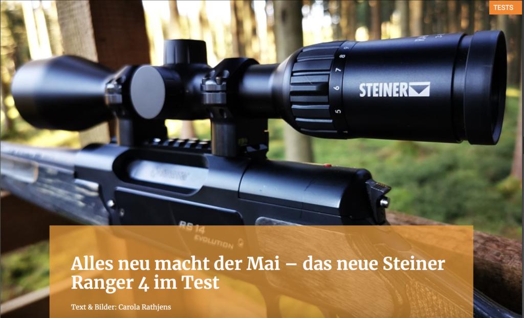 Alles neu für den Mai - das neue Steiner Ranger 4 im Test