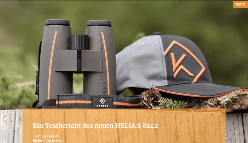 Ein Testbericht des neuen HELIA S 8x42